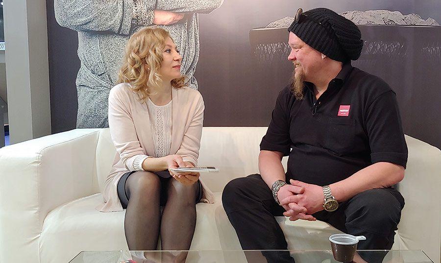 Вилле Хаапасало и Наташа Опарина