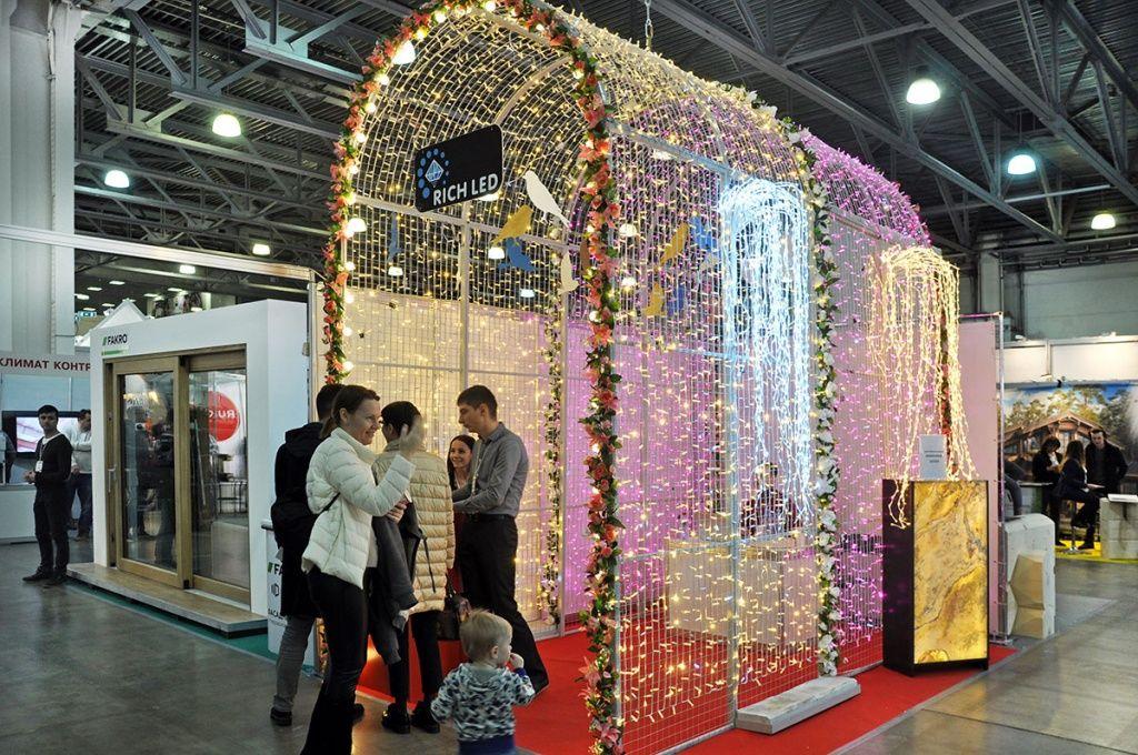 Стенд Rich LED на выставке