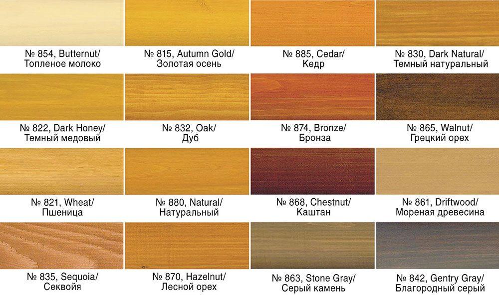 Цветовая гамма Perma-Chink