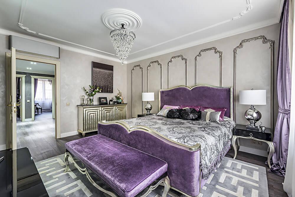 Интерьер хозяйской спальни
