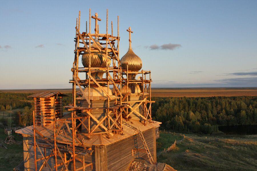 Возрождение деревянных храмов Русского Севера
