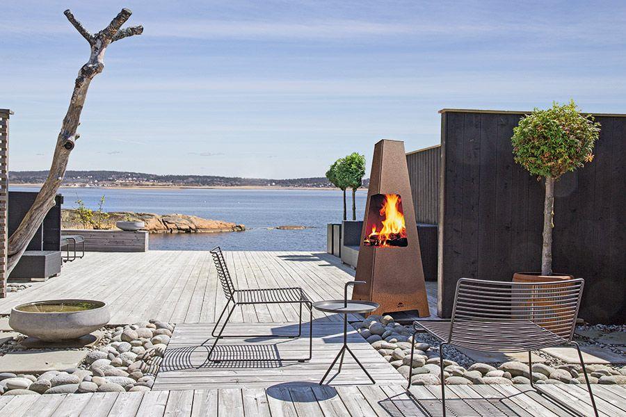 Открытый камин Jotul, Норвегия